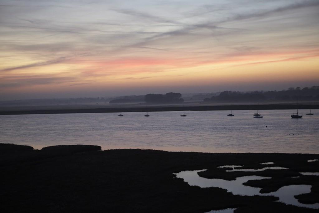 Aldeburgh at Dusk by Libi Pedder